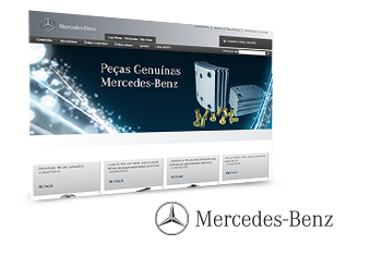 Mercedes-Benz e-Commerce de Auto-Peças de Caminhões